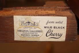 henkel harris dining room henkel harris wild dark cherry drop leaf table and chairs antique