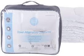 White Down Comforter Set Duvet Organic Cotton Down Filled Fall Weight Duvet Insert For