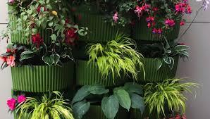 Garden Wall Decor Ideas Plant Upcycled Flower Pot Ideas Amazing Wall Garden Planters