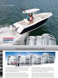 hondamarine brochure fuel injection throttle