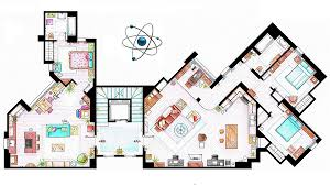 cool floor plans check out this artist s cool floorplans of tv homes
