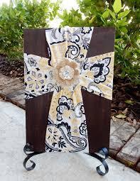 Crosses Home Decor 85 Best Burlap Fabric Crosses On Wood Images On Pinterest Burlap