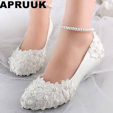 wedding shoes ivory low wedges heels womens summer wedding shoes ivory lace