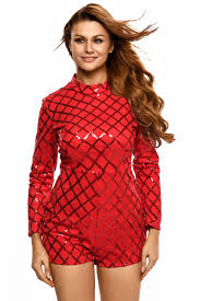 Red Jumpsuits For Ladies Online Get Cheap Ladies Fashion Jumpsuits Red Aliexpress Com