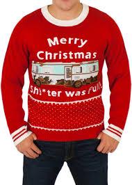 christmas sweaters men s naughy christmas sweaters festified