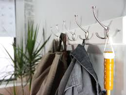 How To Hang A Picture On A Brick Wall How To Hang A Coat Rack On A Wall How Tos Diy