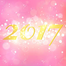 happy new year backdrop happy new year 2017 on pink abstract background layout