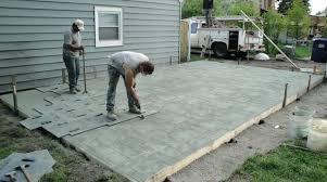 Pergola On Concrete Patio by Colored Cement Patio Stamped Concrete Patio Designs Colored