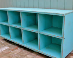 dorm room entry furniture organization cubby bench