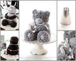 133 best teddy bear images on pinterest birthday cakes recipes