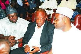 Dr Bade Photo Opc Leaders Visit Governor Mimiko The Hope Newspapers