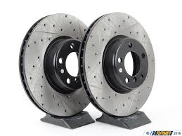 bmw rotors 34106797602cds front stoptech drilled slotted brake rotors