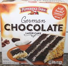 pepperidge farm german chocolate layer cake review youtube