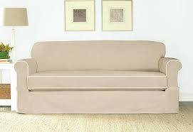 white slipcovers for sofa white cotton duck sofa slipcovers veneziacalcioa5 com