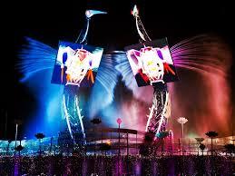 barco u0027s creative led solution lights up world u0027s biggest