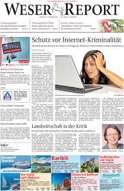 Weserklinik Bad Oeynhausen Weser Report Weyhe Syke Bassum Vom 09 10 2016 By Kps