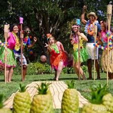 Pineapple Decoration Ideas Luau Entrance Decorating Idea Totally Tiki Luau Party Ideas