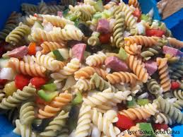 Homemade Pasta Salad by Summer Sausage Pasta Salad Recipes Food Pasta Tech