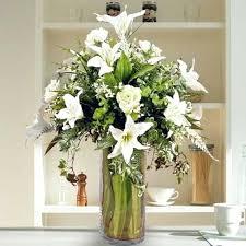 Large Vases Uk Large Artificial Flower Arrangements In Vases Artificial Peony