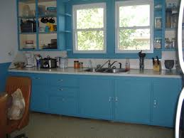 Blue Painted Kitchen Cabinets Home Decor Gallery - Blue painted kitchen cabinets