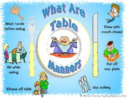 table manners table manners placemat by marion s creative teaching resources tpt