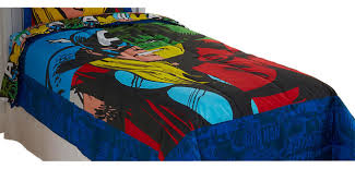 marvel comics classic avengers twin bed comforter contemporary