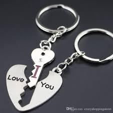 love key rings images Heart shape i love you key chain ring keychain keyring lover jpg
