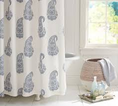 rayna paisley shower curtain pottery barn