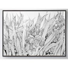 china gris the black u0026 white sketch framed art hand sketch for