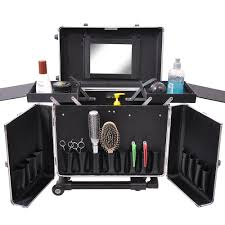 makeup artist box aosom professional makeup artist cosmetic travel with