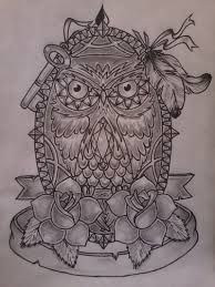 owl tattoo sketches pictures to pin on pinterest tattooskid