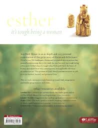 esther it s tough being a woman esther bible study book ruby apple