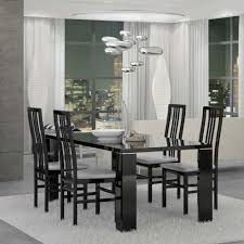 Black Modern Dining Room Sets Modern Furniture Contemporary Furniture Furniture Center Ny