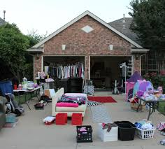 organizing a garage sale like a pro house design
