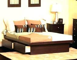 King Size Storage Headboard King Platform Bed Storage Albachat Me
