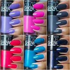 amor de lacquer maybelline color show nail polishes u2013 they rock