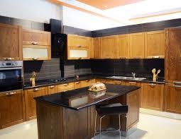 casa cuisine cuisines bois frêne massif teinté casa plus tunisie
