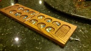 building a mancala board out of wood
