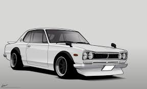 paul walkers nissan skyline drawing images of 1969 nissan skyline gt sc