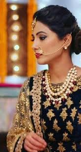 akshara wedding hairstyle heena khan aka akshara indian tellywood pinterest actresses