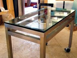 custom glass table tops online chicago il top 23073 gallery