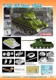 T 72 Interior 7270 1 72 T 34 85 Mod 1944 Late Production Dragon Plastic