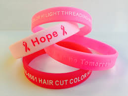 pink silicone bracelet images View custom wristband samples types jpg