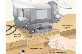 tool bases and storage wood magazine