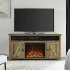 tv stand with electric fireplace interior design