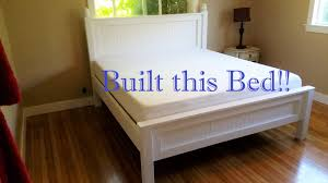How To Make A King Size Bed Frame Making A New King Sized Bed Youtube