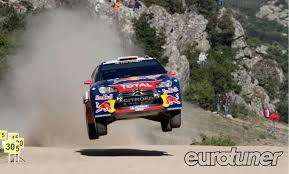 subaru rally jump citroen wrc unbeaten on gravel after rally italy sardinia