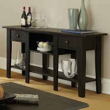 mission style console table mission furniture living room