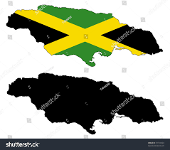 Colors Of Jamaican Flag Drawing Map Flag Jamaica Stock Illustration 31754923 Shutterstock