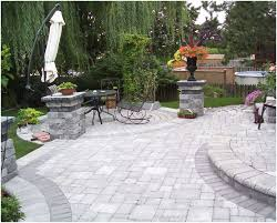 Cheap Backyard Patio Designs Backyards Innovative Paving Stones Backyard Patio Decorating